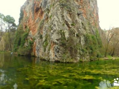 Parque Natural Monasterio de Piedra; senderos del valle; atención exclusiva al senderista;la bola d